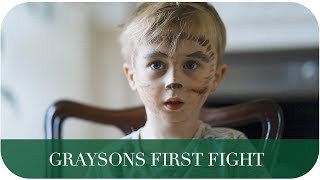 GRAYSONS FIRST FIGHT | THE MICHALAKS