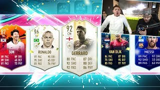 OMG WE GOT TWO OPTIMUS PRIME ICON!  FIFA 19 Ultimate team Draft