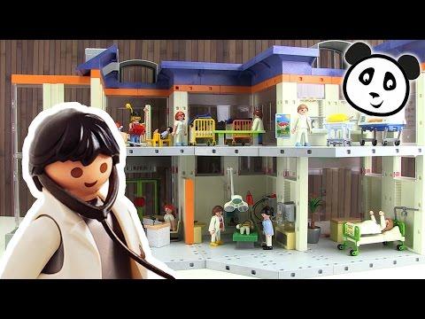 ⭕ Playmobil Kinderklinik Mit Einrichtung - Spielzeug Ausgepackt & Angespielt - Pandido TV