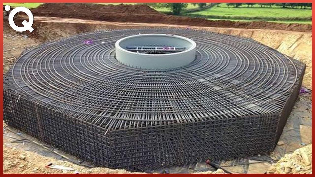 Изграждане На Централи с Вятърни Генератори от Нулата | Инженерство На Друго Ниво