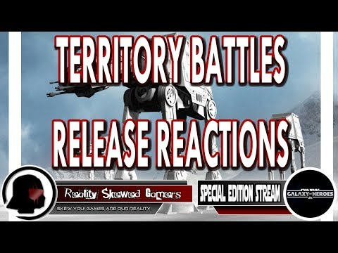 RSG Territory Battles Release Reactions | Star Wars: Galaxy of Heroes #swgoh