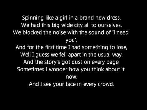 Holy ground- Taylor Swift lyrics