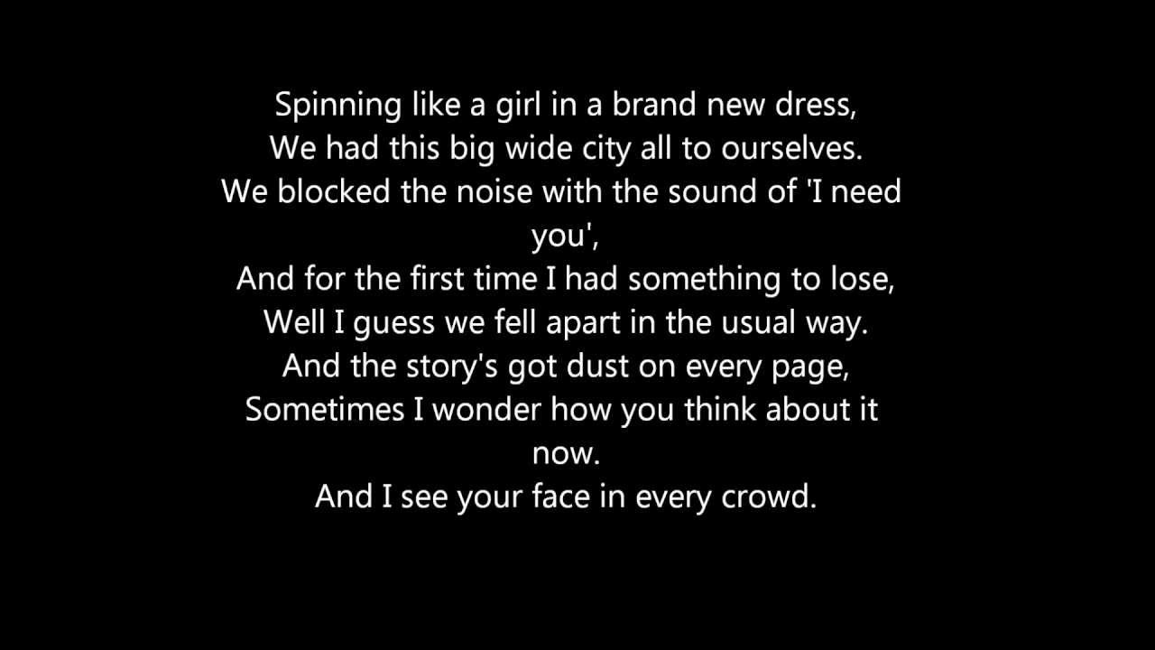 Holy Ground Paroles Taylor Swift Greatsong