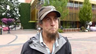 Terry speaking on homelessness in Eugene Oregon