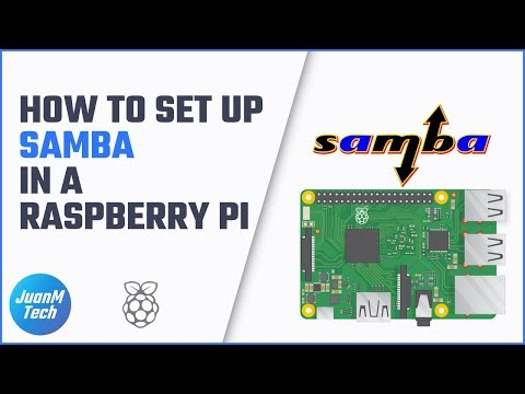 How to set up Samba file sharing on a Raspberry Pi • JuanMTech
