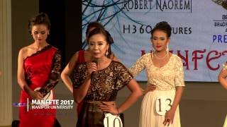 MANFETE QUEEN 2017 Top Ten and Question & Answer -MANFETE 2017