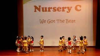 We Got The Beat- Kinderland N2 Year End Performance
