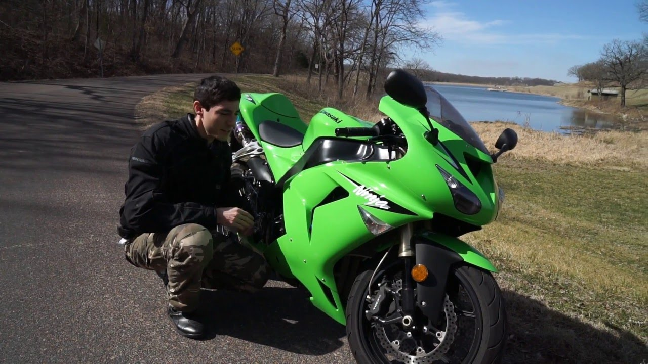 Used Bike Reviews Kawasaki Ninja Zx 10r 2006 2007 Youtube