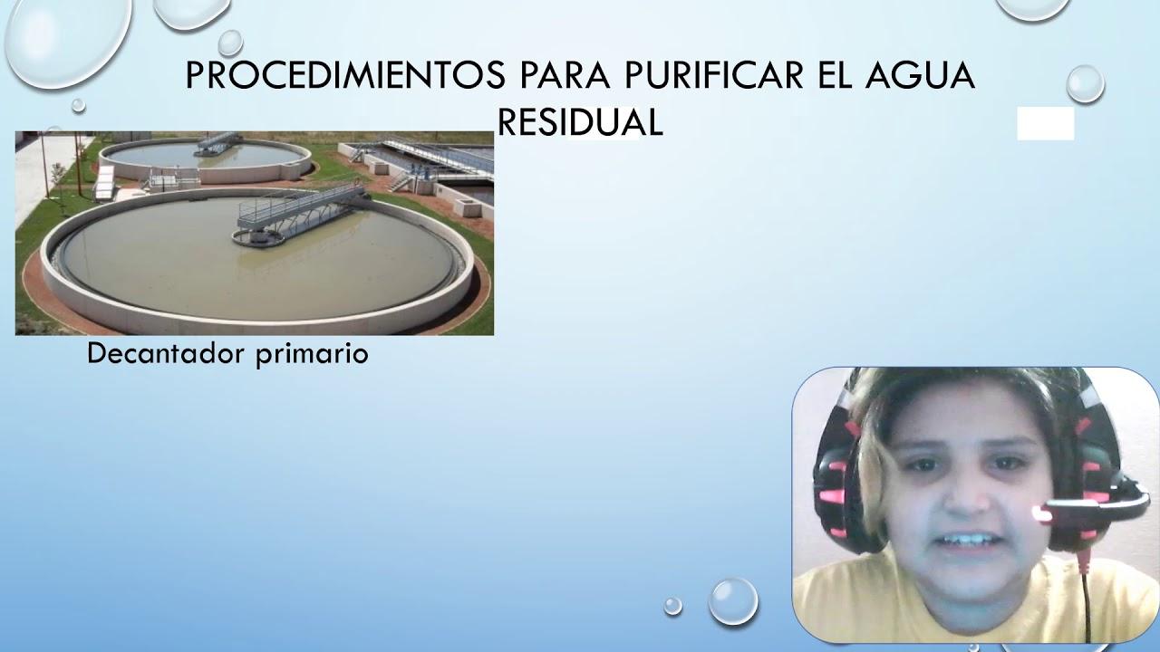 Procedimientos Para Purificar El Agua Residual 5 Youtube