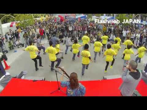 フラッシュモブ動画 津軽三味線&ヒューマンビートボックス|Flashmob JAPAN