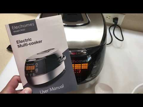 elechomes-rice-cooker-/-multi-cooker-product-review-and-rice-cook