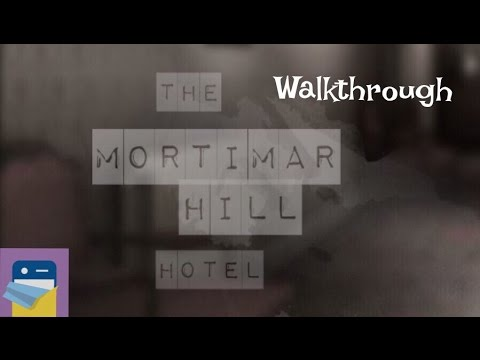 The Mortimar Hill Hotel: COMPLETE Walkthrough Guide & iOS iPad Air 2 Gameplay (Monioko)