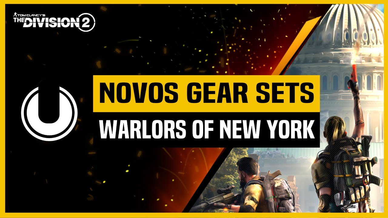 The Division 2 | Novos Gears Sets | Expansão Warlords of New York