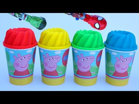 Thumbnail: Play Doh Ice Cream Peppa Pig Hulk Spiderman Gumballs Surprise Play Doh Minnie Mouse