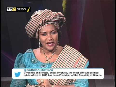 AFRICA TODAY ON NIGERIA IN 2016 WITH FOLASHADE OBA