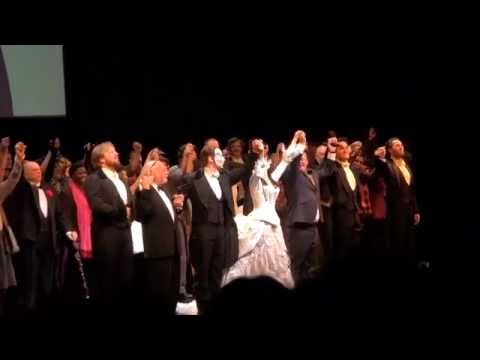 THE PHANTOM OF THE OPERA's 25th Anniversary Curtain Call