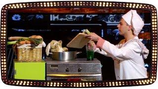 De goochel act met het konijn en 'Le Chef' | Popster! 2015 | Audities | SBS6