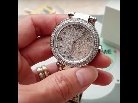 7593558d3b96 How To Adjust Resize Any MICHAEL KORS Watch Band Links At Home Tools! 7 30  18