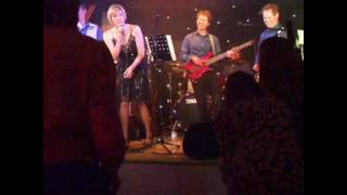 Wedding Party band hired in East Sussex - live video clip of Shout played by Famous Five Band