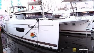 2017 Fountaine Pajot Helia 44 Catamaran - Deck Interior Walkaround - 2016 Annapolis Sailboat