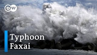 Typhoon Faxai hits Japan | DW News