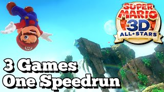 I Completed The Super Mario 3D: All Stars Speedrun In UNDER 6 HOURS