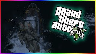 GTA 5 Online Funny Moments - Sinking The Tug Boat & Loading It With Massive Vehicles