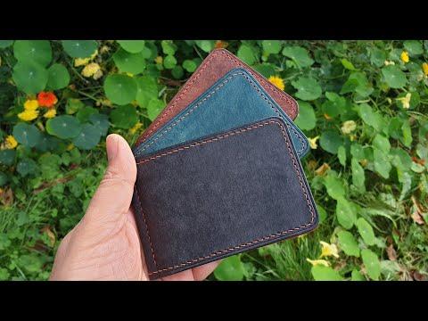 Кошельки ручной работы из кожи Pueblo. Pueblo Handmade Leather Wallets