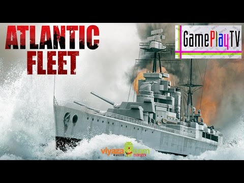 Atlantic Fleet - Android & iOS (1080P) Ship Battles ! - Gameplay