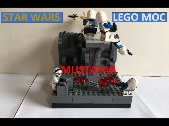Lego Star Wars MOC on Mustafar