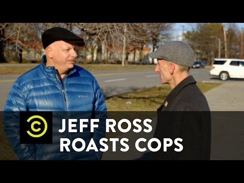 Jeff Ross Roasts Cops - An Awkward Roast of Boston's Finest