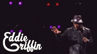 Eddie Griffin Remembers Playing Outside As a Kid & White Kids on Milk Cartons