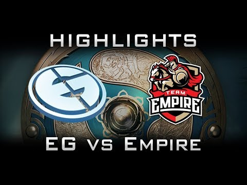 EG vs Empire TI7 Highlights The International 2017 Dota 2