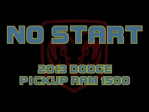 2013 Dodge Pickup Ram 1500 - No Start - Just Clicks