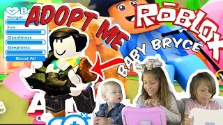 ROBLOX© Adopt Me | Maddie & Bryce Play + Surprise Toy Opening at End