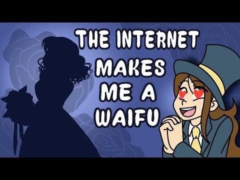 The Internet Makes Me a Waifu!! // Character Generator Speedpaint