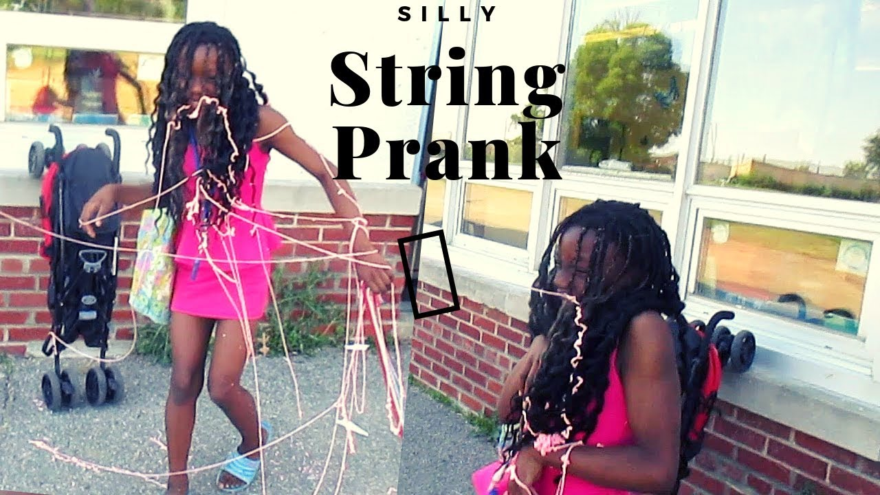 Silly String Prank On Kids