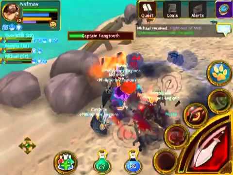 Battle Against Captain Fangtooth