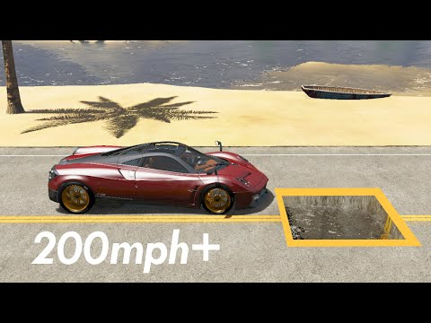 At What Speed Potholes Become Ineffective? - Beamng Drive | Car Pal