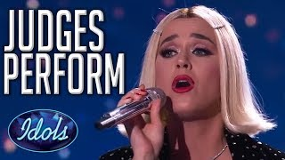 When JUDGES Perform on Idol! | Including Lionel Richie, Katy Perry and MORE | Idols Global