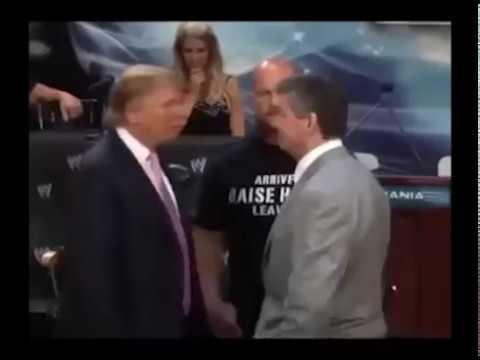 Donald Tramp Fight - Трамп дал леща оппоненту=)