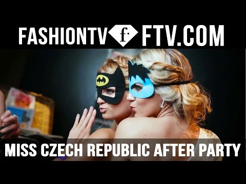 Miss Czech Republic After Party 2016 at Fashion Club Prague | FTV.com