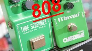 LEGENDARY GREEN BOXES: Ibanez TS808 vs Maxon OD808 Comparison