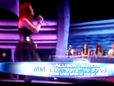 Allison Iraheta Alone By Heart (HQ) American Idol 8