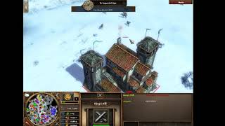age of empires 3 (but with cheats and noob AI'S