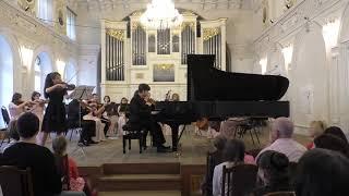 видео: Ф. Мендельсон - Концерт для скрипки и фортепиано с оркестром ре-минор, III часть