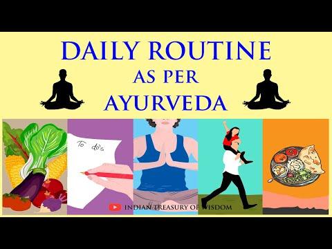 Daily Routine as per AYURVEDA (Hindi) | Dincharya and Ratricharya EXPLAINED |