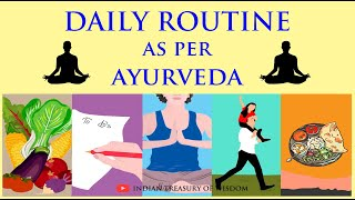 Daily Routine as per AYURVEDA (Hindi) | Dincharya and Ratricharya EXPLAINED |