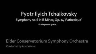 Tchaikovsky Symphony no.6 II. Allegro con grazia
