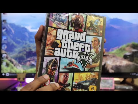 GTA 5 PC Unboxing ( Ultra graphics )